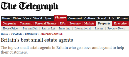 Britain s best small estate agents   Telegraph 800 pixels W.png